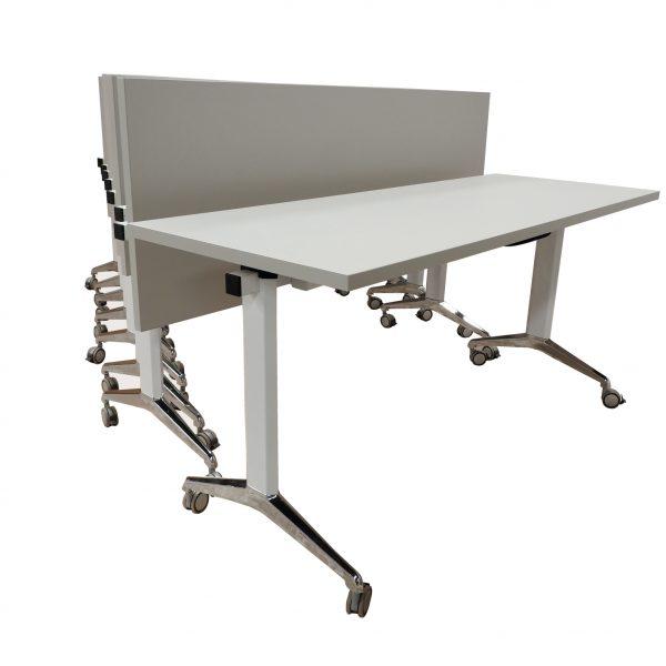 Mesa de Trabajo Tech White